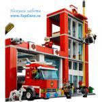 LEGO Конструктор 60004 Город Пожарная часть